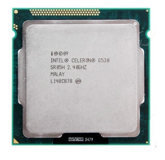 Processador Intel Celeron G530 2.40ghz 2mb Lga1155 Seminovo