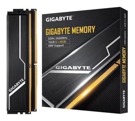 Memoria 16gb Ddr4 2666 Gigabyte Mh2x8 Ram