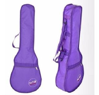 Capa Para Violão Infantil Semi Luxo Roxa Working Bag