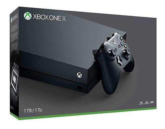 Xbox One X Console Vídeo Game 1tb Lacrado + Controle Extra