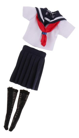 Bonitinho Camisa & Mini Saia Escola Uniforme Clothes Equipam