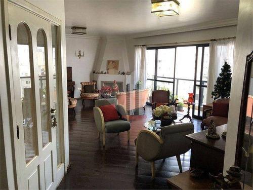 Apartamento Com 3 Dormitórios À Venda, 210 M² Por R$ 1.290.000 - Mooca - São Paulo/sp - Ap3033