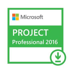 Licença Microsoft Project Professional 2016 Esd