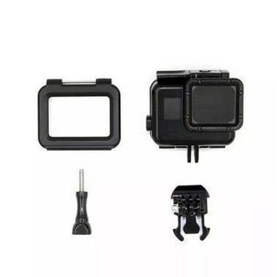 Caixa Estanque Gopro 5 6 E 7 C/ Tela Touch C/ Bastao Flutuan