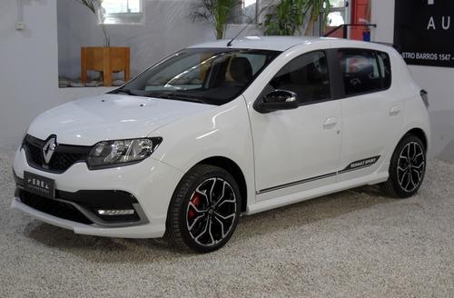 Renault Sandero Ph2 Rs 2.0 Nafta 2021 Blanco Ya Patentado!!