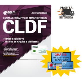 Apostila Cldf 2018 Câmara Legislativa Df Técnico De Arquivo