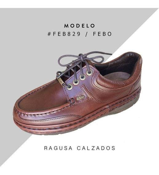 Zapatos Febo Súper Confort - Cuero - Envío Gratis!