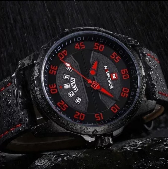 Relógio Masculino Naviforce Original Lindo Casual De Luxo