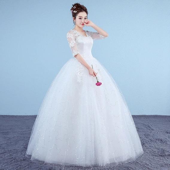 Vestido M (novo) Para Casamento. Pronta Entrega. Decotegolav