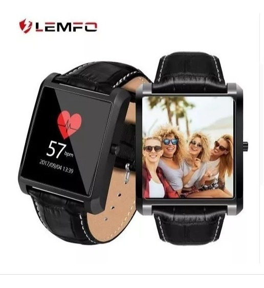 Relógio Lemfo Lf20 Inteligente Monitor Freqüência Cardíaca