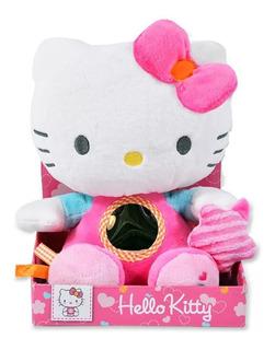 Hello Kitty Peluche Con Actividades Bebe Espejo Muñeco