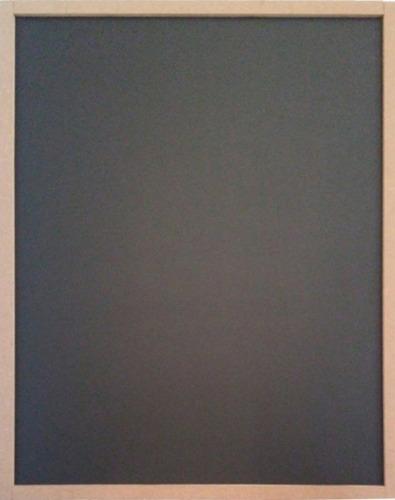Pizarrón Negro 50x70 Cm Doble Vista