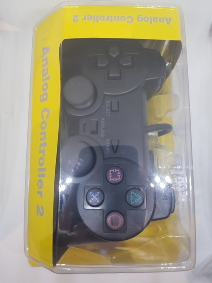Joystick Para Ps2 Con Cable, Play Station 2 Mando Con Cable