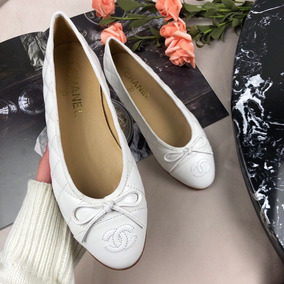 6459c06440 Sapatilha Chanel - Sapatos Branco no Mercado Livre Brasil
