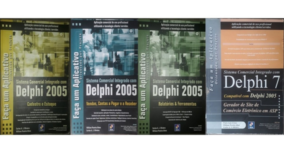 Delphi 2005 Coleção Completa + Brinde + Delphi 7