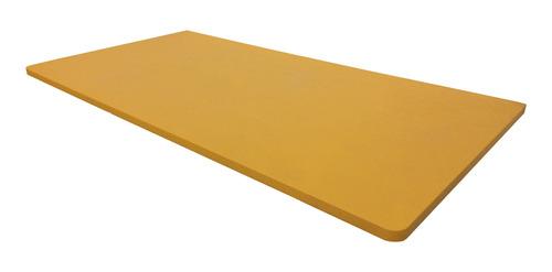 Imagem 1 de 1 de Mesa Bancada Mesinha Parede Sem Suporte Amarela 100x45cm