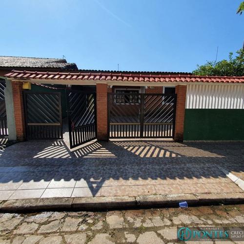 Casa No Bairro Flórida Em Peruíbe - Ca00707