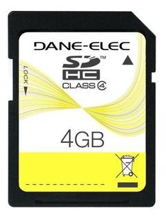 Dane-elec 4 Gb Tarjeta De Memoria Flash Sdhc Da-sd-4096-r