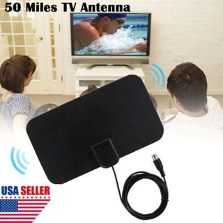 Plano Interior Hd Señal Amplificador Antena Tv Digital -9272