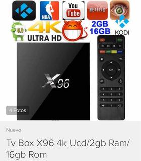Tv Box X96 2 Gb Ram 16 Gb Almacenamiento.