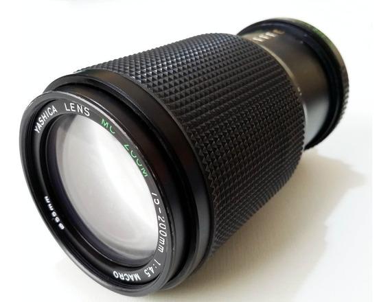 Lente Yashica 75-200mm Full Frame Canon Nikon Sony