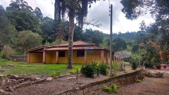 Sitio Próximo A Campinas Casa Com 3 Dormitórios À Venda 450.000 - Si0002