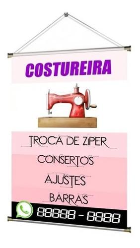 Banner Pronto Costureira