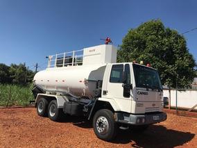 Ford Cargo 2622 6x4 Pipa Tanque De Agua Bombeiro R$ 145.000.