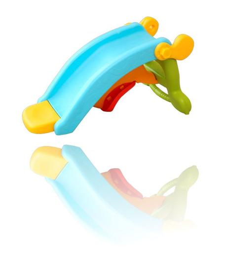 Playground Infantil Escorregador E Gangorra Brinquedo 2 Em 1