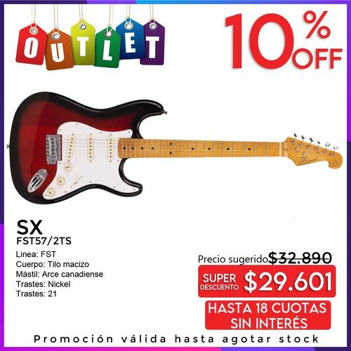 Imagen 1 de 6 de Stratocaster Cuerpo Macizo Sx Fst57 Oportunidad Outlet