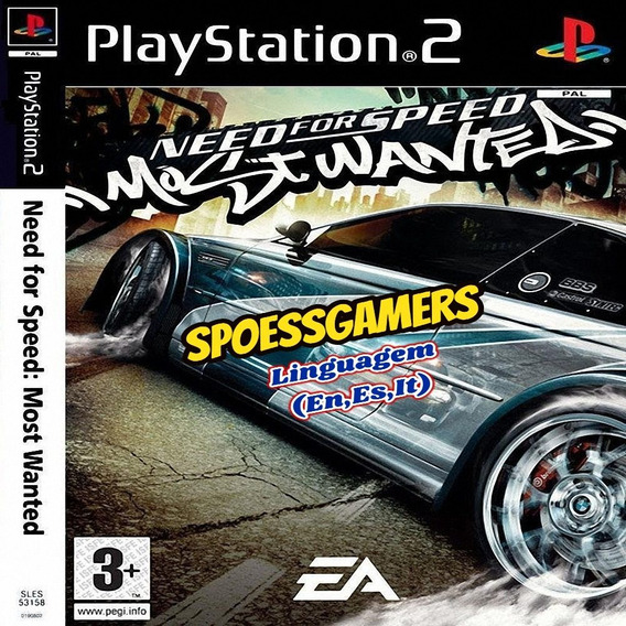 Need For Speed Most Wanted Ps2 Desbloqueado Patch