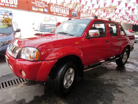 Nissan Pickup Frontier Le 4 Cil 2.4 L Man A/ac 2014 Roja