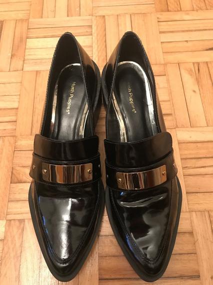 Zapato Mujer Negro Acharolado 39.5