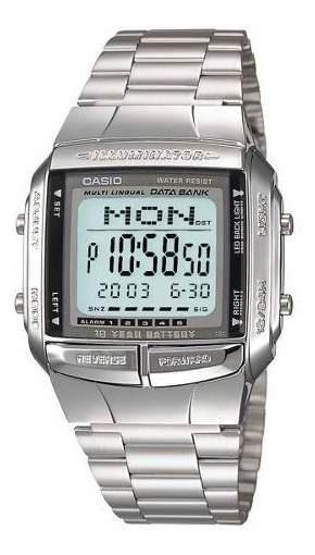 Reloj Casio Hombre Plateado Db-360-1adf