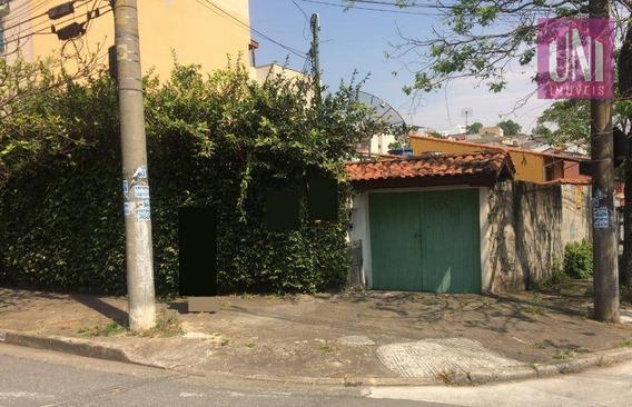 Terreno Residencial À Venda, Parque Novo Oratório, Santo André. - Te0176