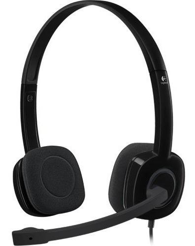 Audifono Con Microfono Logitech H151 Susp Ruido - Revogames