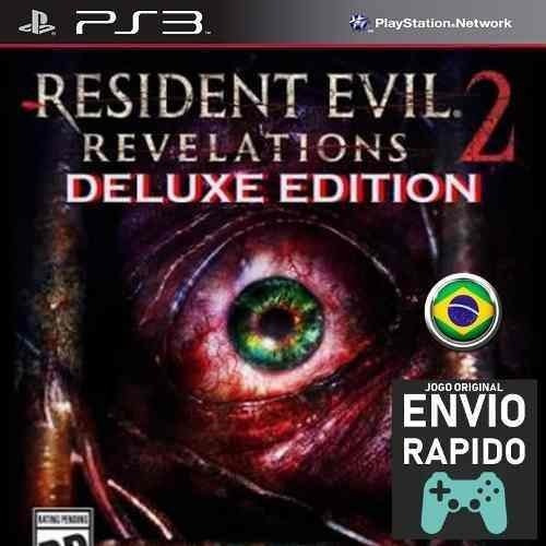 Resident Evil Revelations 2 Deluxe Edition Todos Ep Jogo Ps3