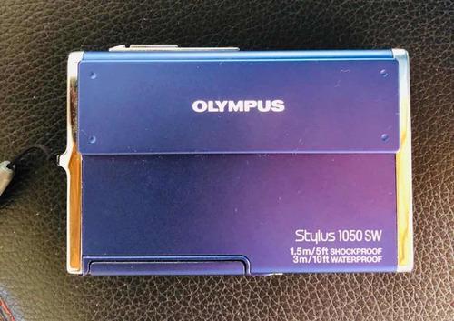 Câmera Digital Olympus - Stylus 1050sw - A Prova Dagua