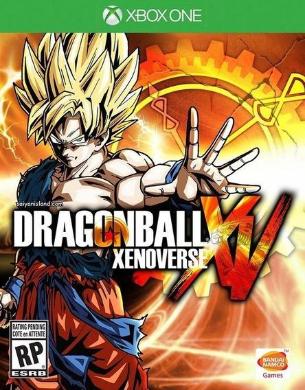 Dragon Ball Xenoverse Xv Xbox One Mídia Física Português