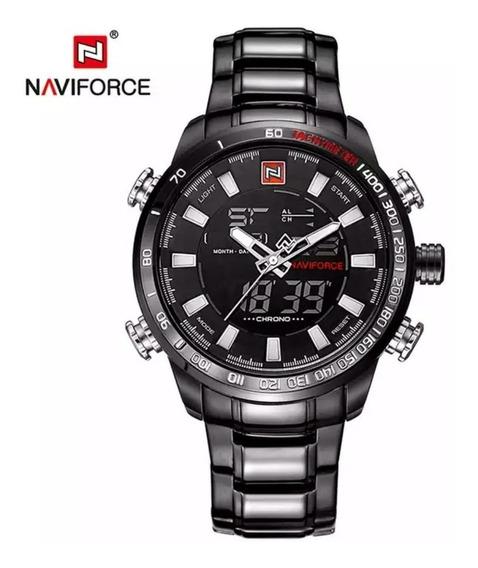 Relógio Naviforce Masculino Dual Time