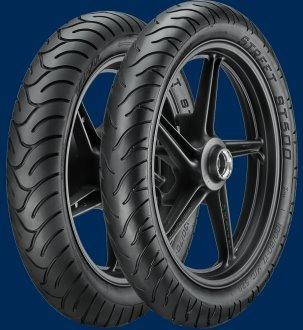 Par De Pneus Yamaha Ys Fazer 250 100/80-17 E 130/70-17