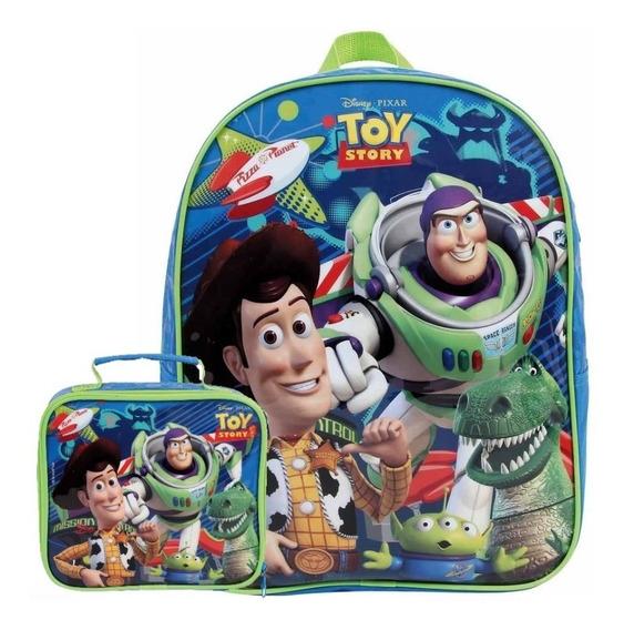 Kit Mochila Escolar G Toy Story 30451 + Lancheira 30450