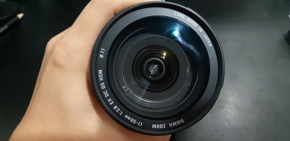 Lente Sigma 17-55 2.8 Ex Os Hsm Canon