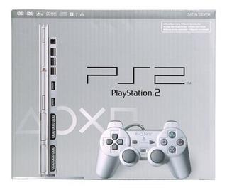 Consola Playstation 2 Sony Color Plata