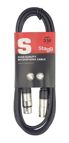 Imagen 1 de 5 de Cable Stagg Canon Canon De 6 Metros - Smc6
