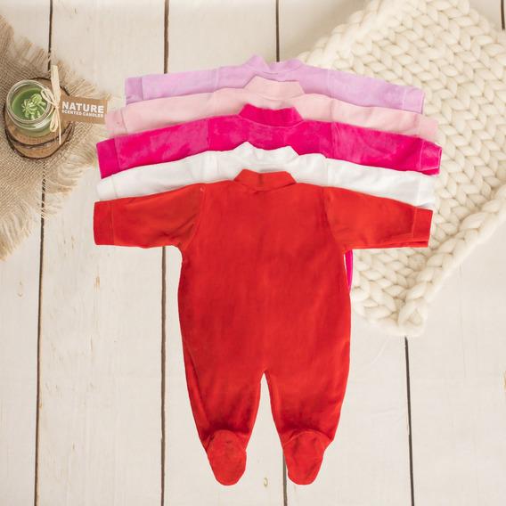 Kit C/5 Roupas Enxoval Menino Menina Bebê Maternidade Plush