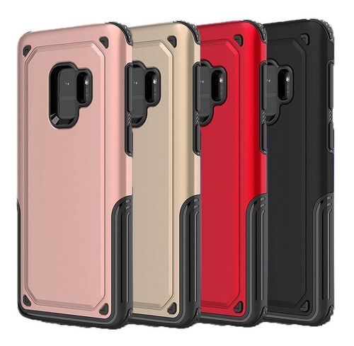 Forro Hibrido Doble Antigolpes Samsung S8 G950 / S9 G960