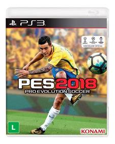 Pes 18 Ps3 Play 3 Midia Digital Psn Original Em Portugues