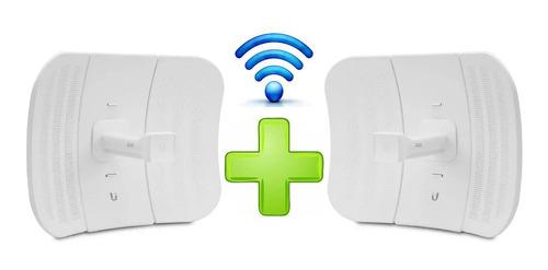 Imagen 1 de 5 de Enlace Internet Wifi Ubiquiti Lbe-m5-23 Punto A Punto 25km