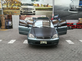 Honda Civic Modelo 2000 A Gasolina Económic
